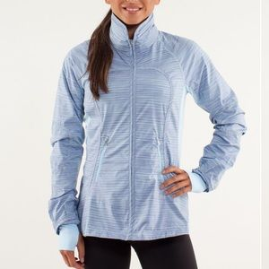 Lululemon Run Make A Break Jacket